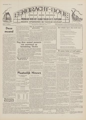 Eendrachtbode (1945-heden)/Mededeelingenblad voor het eiland Tholen (1944/45) 1969-03-13