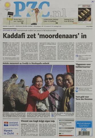 Provinciale Zeeuwse Courant 2011-03-22