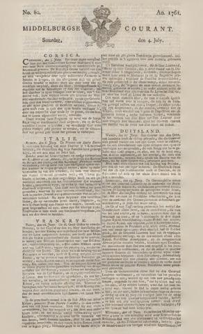 Middelburgsche Courant 1761-07-04