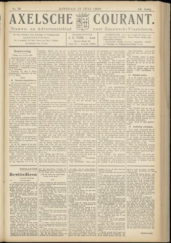 Axelsche Courant 1938-07-19