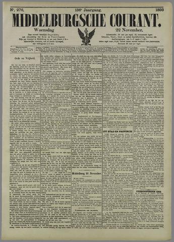 Middelburgsche Courant 1893-11-22