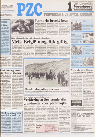 Provinciale Zeeuwse Courant 1990-03-05