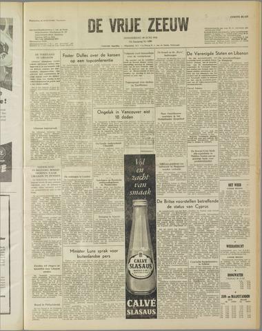 de Vrije Zeeuw 1958-06-19