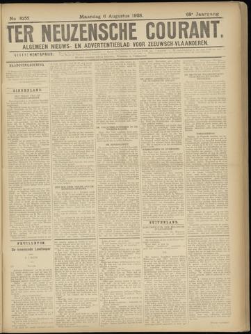 Ter Neuzensche Courant. Algemeen Nieuws- en Advertentieblad voor Zeeuwsch-Vlaanderen / Neuzensche Courant ... (idem) / (Algemeen) nieuws en advertentieblad voor Zeeuwsch-Vlaanderen 1928-08-06