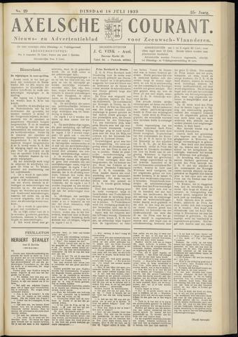Axelsche Courant 1939-07-18