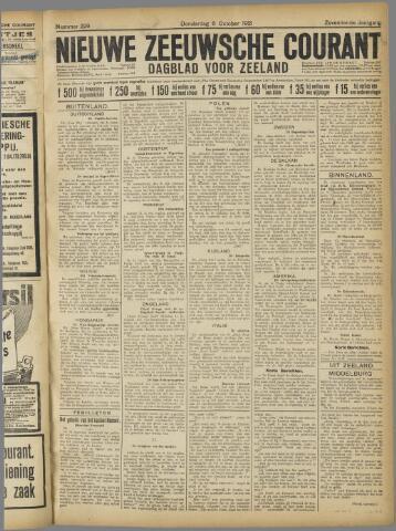 Nieuwe Zeeuwsche Courant 1921-10-06