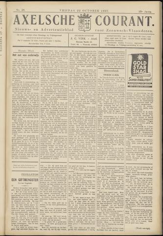 Axelsche Courant 1937-10-22