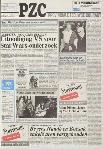 Provinciale Zeeuwse Courant 1985-03-27