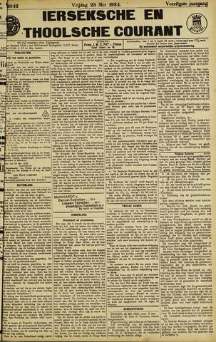 Ierseksche en Thoolsche Courant 1924-05-23