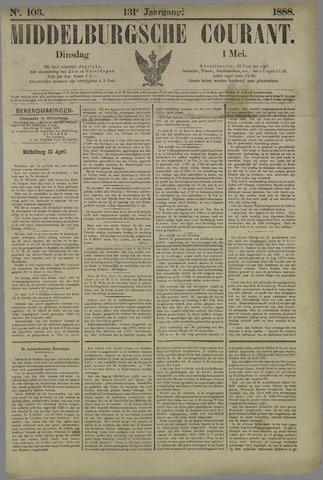 Middelburgsche Courant 1888-05-01