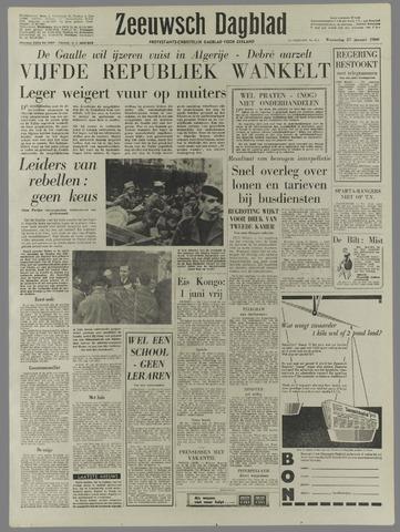 Zeeuwsch Dagblad 1960-01-27