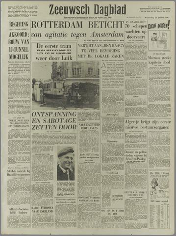 Zeeuwsch Dagblad 1961-01-12