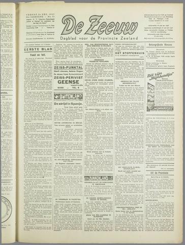De Zeeuw. Christelijk-historisch nieuwsblad voor Zeeland 1937-12-24