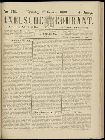 Axelsche Courant 1888-10-17