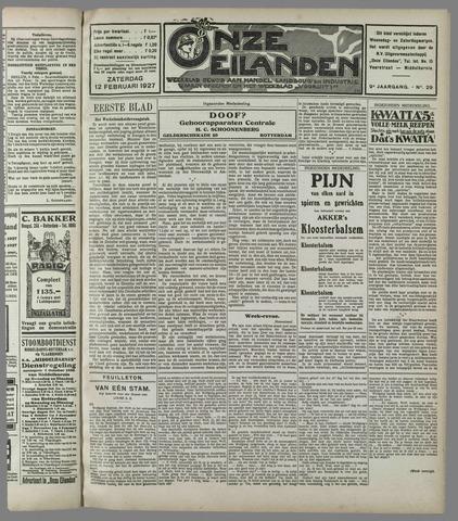 Onze Eilanden 1927-02-12