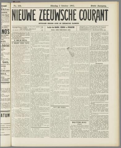 Nieuwe Zeeuwsche Courant 1907-10-01