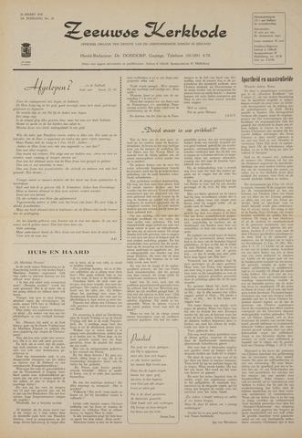 Zeeuwsche kerkbode, weekblad gewijd aan de belangen der gereformeerde kerken/ Zeeuwsch kerkblad 1970-03-26