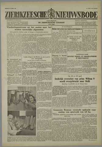 Zierikzeesche Nieuwsbode 1958-04-22