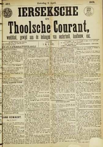 Ierseksche en Thoolsche Courant 1893-04-08