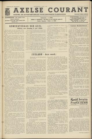 Axelsche Courant 1960-07-09