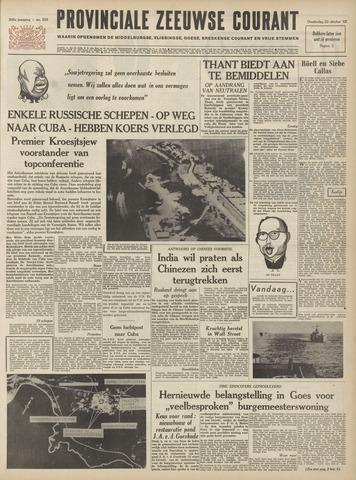 Provinciale Zeeuwse Courant 1962-10-25