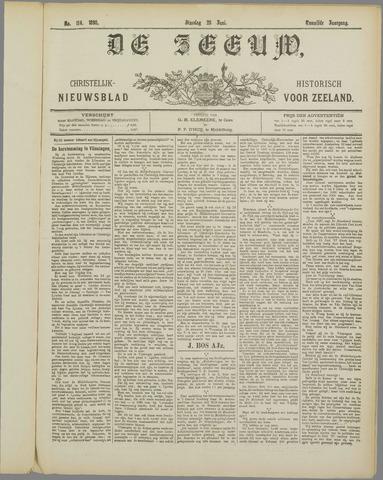 De Zeeuw. Christelijk-historisch nieuwsblad voor Zeeland 1898-06-28