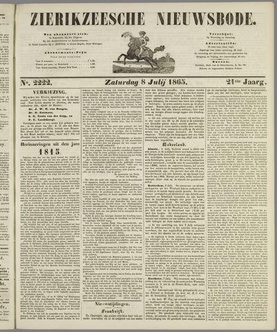 Zierikzeesche Nieuwsbode 1865-07-08