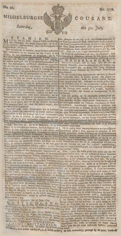 Middelburgsche Courant 1779-07-31