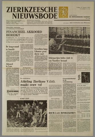 Zierikzeesche Nieuwsbode 1975-01-17