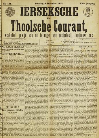 Ierseksche en Thoolsche Courant 1893-12-09