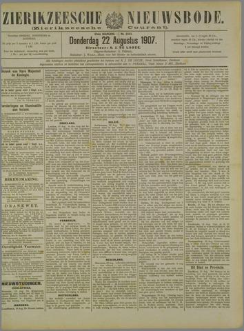 Zierikzeesche Nieuwsbode 1907-08-22