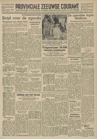 Provinciale Zeeuwse Courant 1948-09-25
