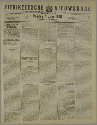 Zierikzeesche Nieuwsbode 1915-06-04
