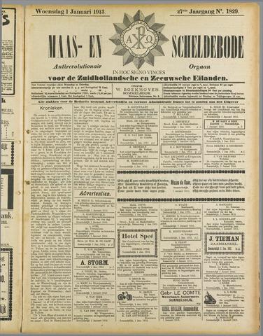 Maas- en Scheldebode 1913