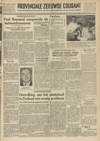 Provinciale Zeeuwse Courant 1952-03-01