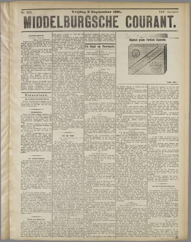 Middelburgsche Courant 1921-09-09