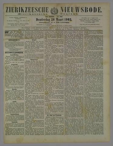 Zierikzeesche Nieuwsbode 1903-03-26