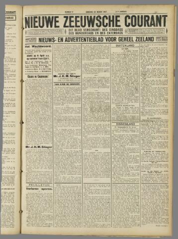 Nieuwe Zeeuwsche Courant 1927-03-29