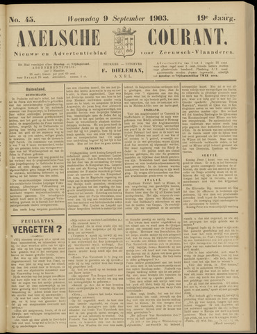 Axelsche Courant 1903-09-09