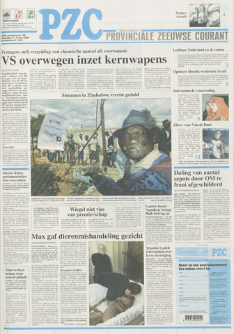 Provinciale Zeeuwse Courant 2002-03-11