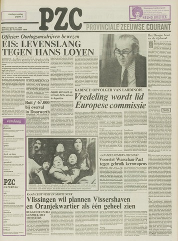 Provinciale Zeeuwse Courant 1976-11-27