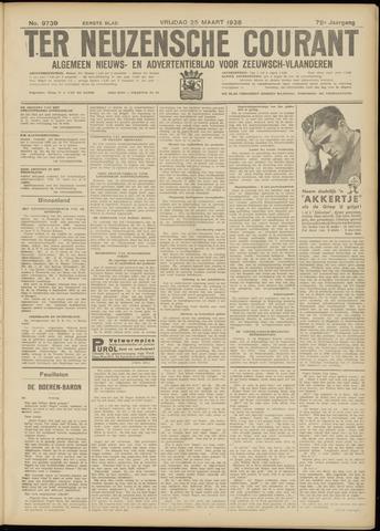 Ter Neuzensche Courant. Algemeen Nieuws- en Advertentieblad voor Zeeuwsch-Vlaanderen / Neuzensche Courant ... (idem) / (Algemeen) nieuws en advertentieblad voor Zeeuwsch-Vlaanderen 1938-03-25