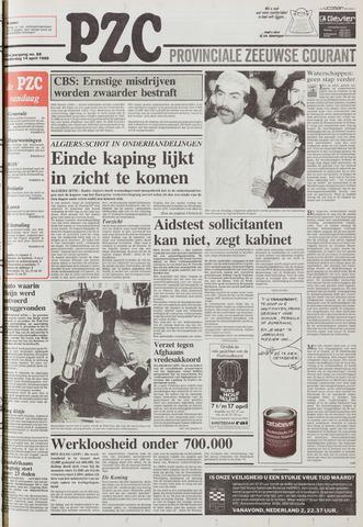 Provinciale Zeeuwse Courant 1988-04-14