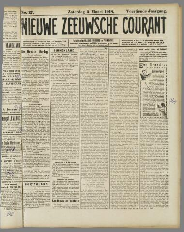 Nieuwe Zeeuwsche Courant 1918-03-02