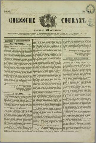 Goessche Courant 1851-10-20