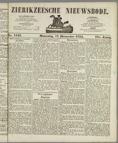 Zierikzeesche Nieuwsbode 1854-12-11