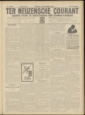 Ter Neuzensche Courant. Algemeen Nieuws- en Advertentieblad voor Zeeuwsch-Vlaanderen / Neuzensche Courant ... (idem) / (Algemeen) nieuws en advertentieblad voor Zeeuwsch-Vlaanderen 1937-10-15