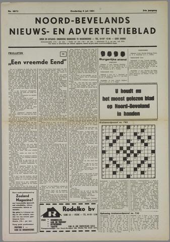 Noord-Bevelands Nieuws- en advertentieblad 1981-07-09