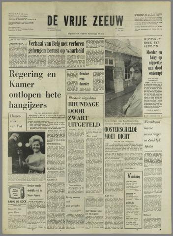 de Vrije Zeeuw 1972-08-23