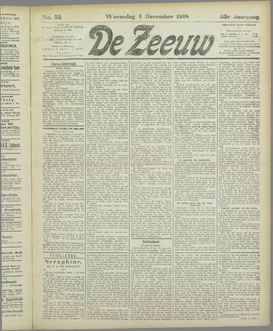 De Zeeuw. Christelijk-historisch nieuwsblad voor Zeeland 1918-12-04